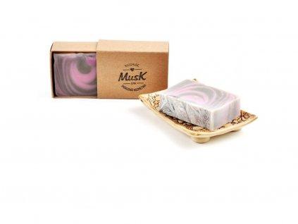 MUSK Tajné přání Přírodní mýdlo s kakaovým máslem