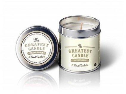 The Greatest Candle svíčka v plechovce (200 g) vanilka