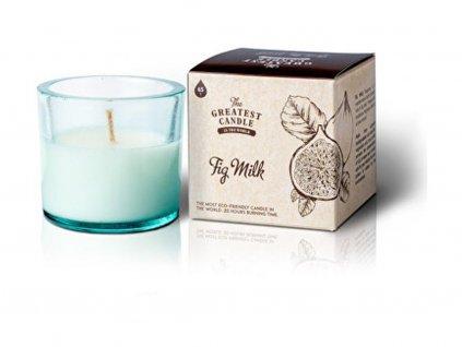 The Greatest Candle Vonná svíčka ve skle (75 g) dřevo a koření