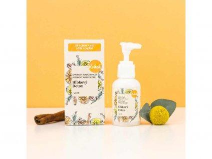 NAVIA Hloubkový detox masážní olej