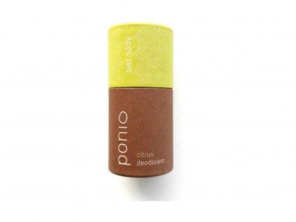 PONIO Cistrus Přírodní deodorant, sodafree