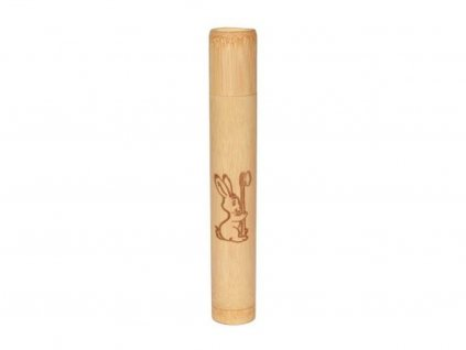 CURANATURA Bambusové pouzdro na dětský kartáček