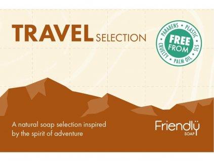 FRIENDLY SOAP Sada cestovních mýdel