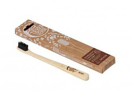 TIERRA VERDE Bambusový kartáček na zuby medium