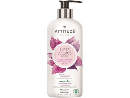 ATTITUDE Přírodní mýdlo na ruce s detoxikačním účinkem čajové listy 473 ml
