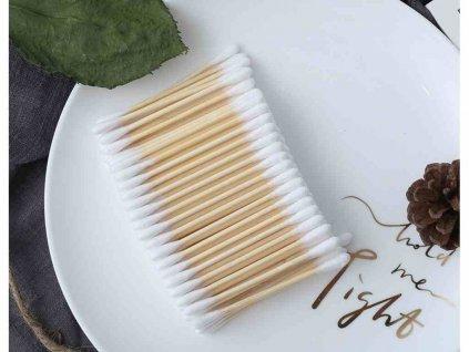 CURANATURA Bambusové vatové tyčinky