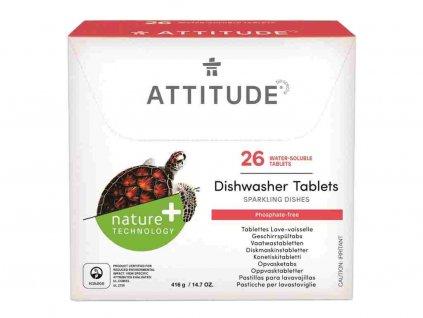 ATTITUDE Tablety do myčky bez fosfátů (28 dávek)