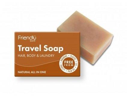 FRIENDLY SOAP Cestovní mýdlo přírodní mýdlo na tělo a vlasy