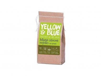 YELLOW & BLUE Mleté olivové mýdlo na praní