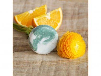 PONIO Pomeranč a eukalyptus kopřivový šampón