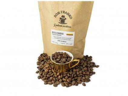 Don Franko Zrnková káva z Kolumbie