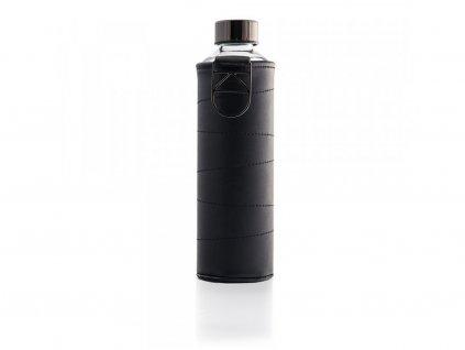 EQUA Mismatch Graphite 750 ml s koženým obalem skleněná láhev