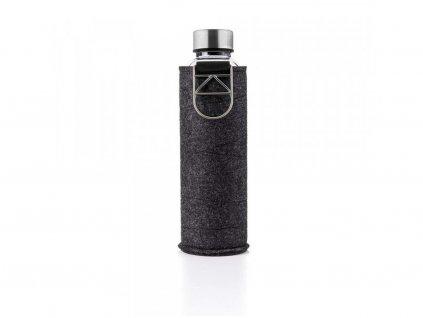 EQUA Mismatch Silver 750 ml s plstěným obalem skleněná láhev