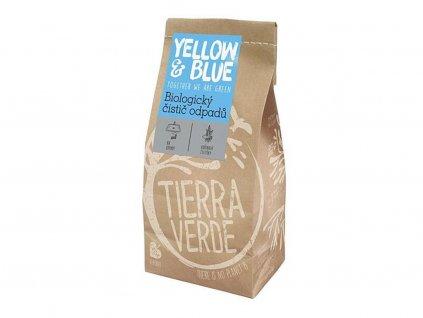 YELLOW & BLUE Biologický čistič odpadů (papírový sáček 500 g)