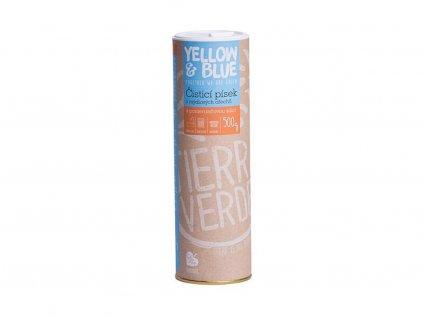 YELLOW & BLUE Čistící písek z mýdlových ořechů