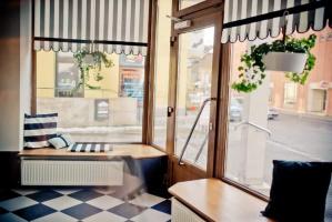 Pekařství u radnice Šumperk - rekonstrukce prodejny