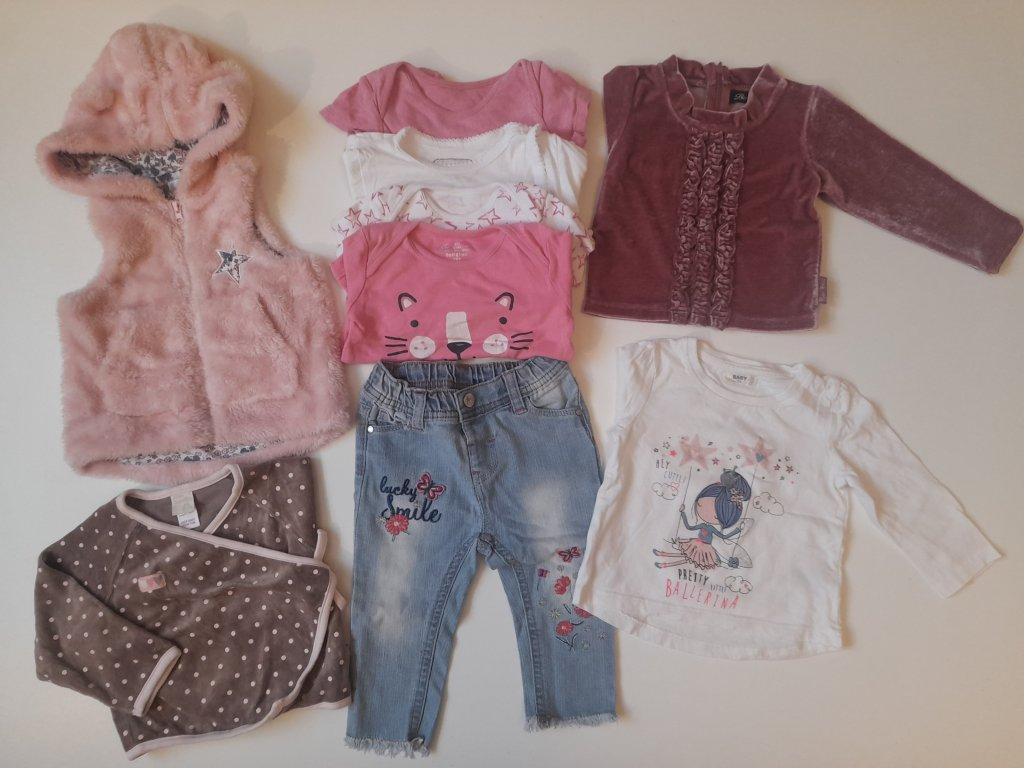 Sada oblečení 6 - 9 měsíců