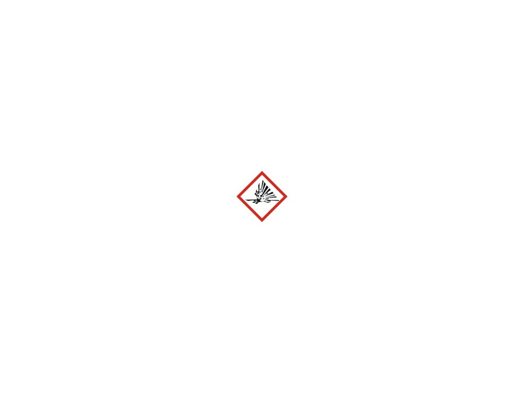 Tabulka - VÝBUŠNÉ GH S 01