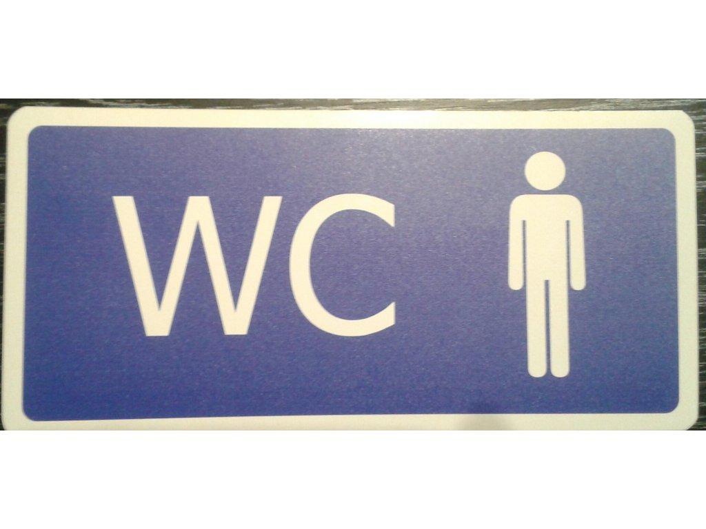 Tabulka - WC muži