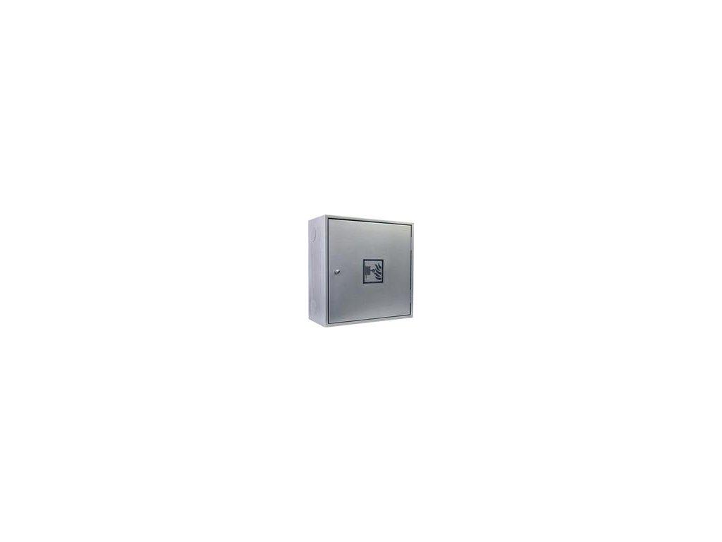Hydrantový systém - D25 - celonerezový - 650x650x285 - 30 m