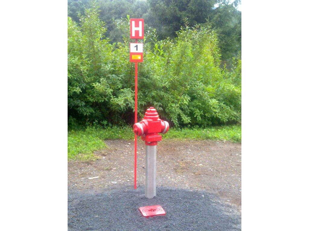 Značení venkovních hydrantů - H