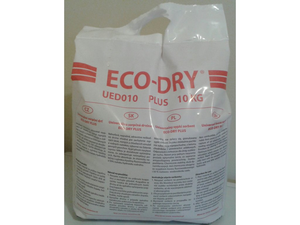 Sypký sorbent - ECO-DRY PLUS