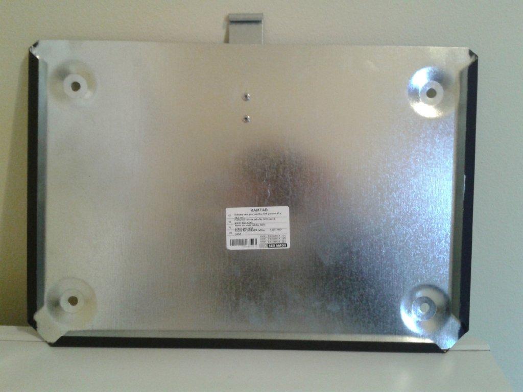 Tabulka - uchýtný rám pro tabulky ADR pevná (41x28,5 cm)
