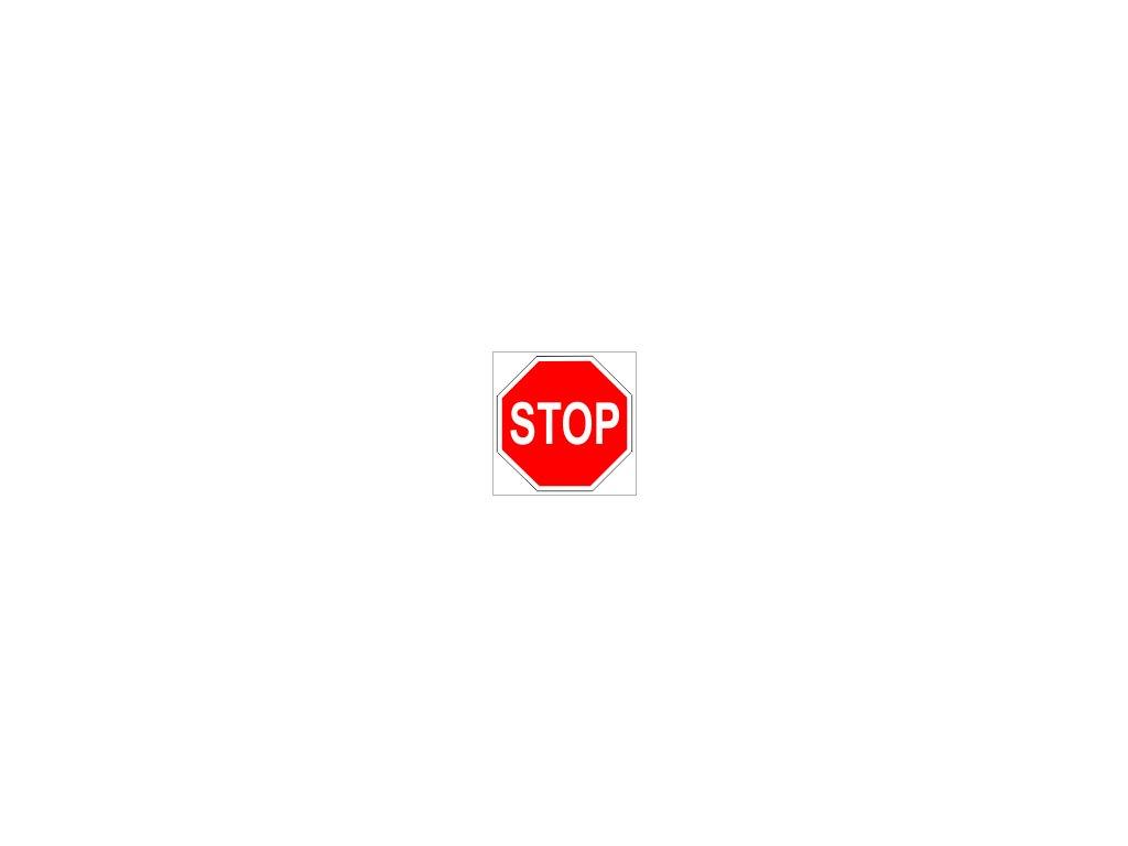 Tabulka - STOP