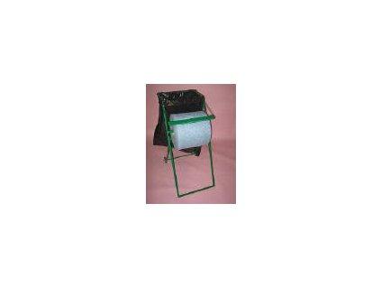 Pojízdný stojan na utěrky s odpadkovým pytlem