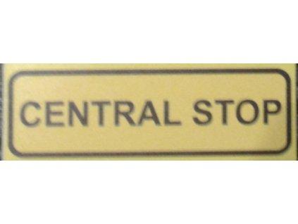 Tabulka - CENTRAL STOP