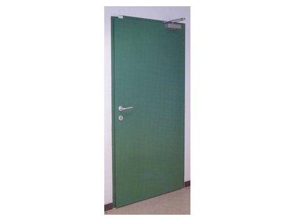 Protipožární dveře - ocelové plné - EW 60 DP1