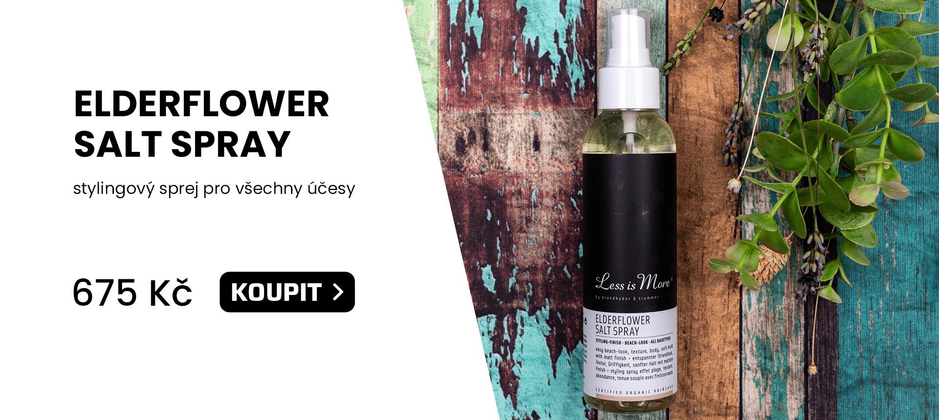 Less is More - Elderflower Salt Spray