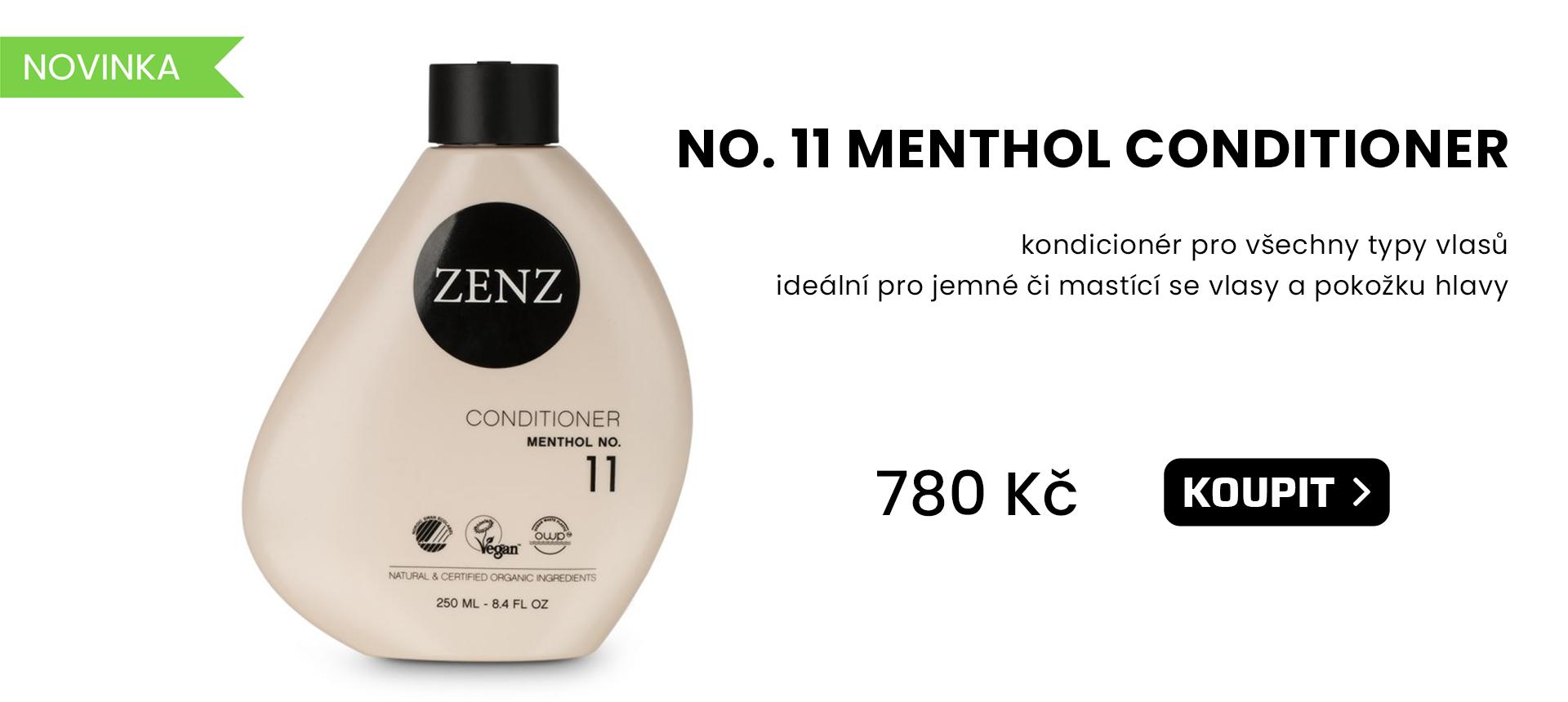 Zenz organic - NO. 11 MENTHOL Conditioner
