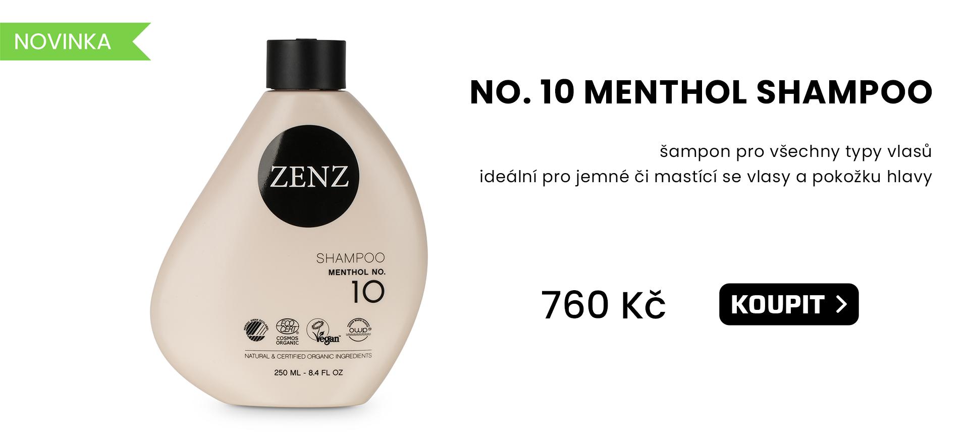 Zenz organic - NO. 10 MENTHOL Shampoo