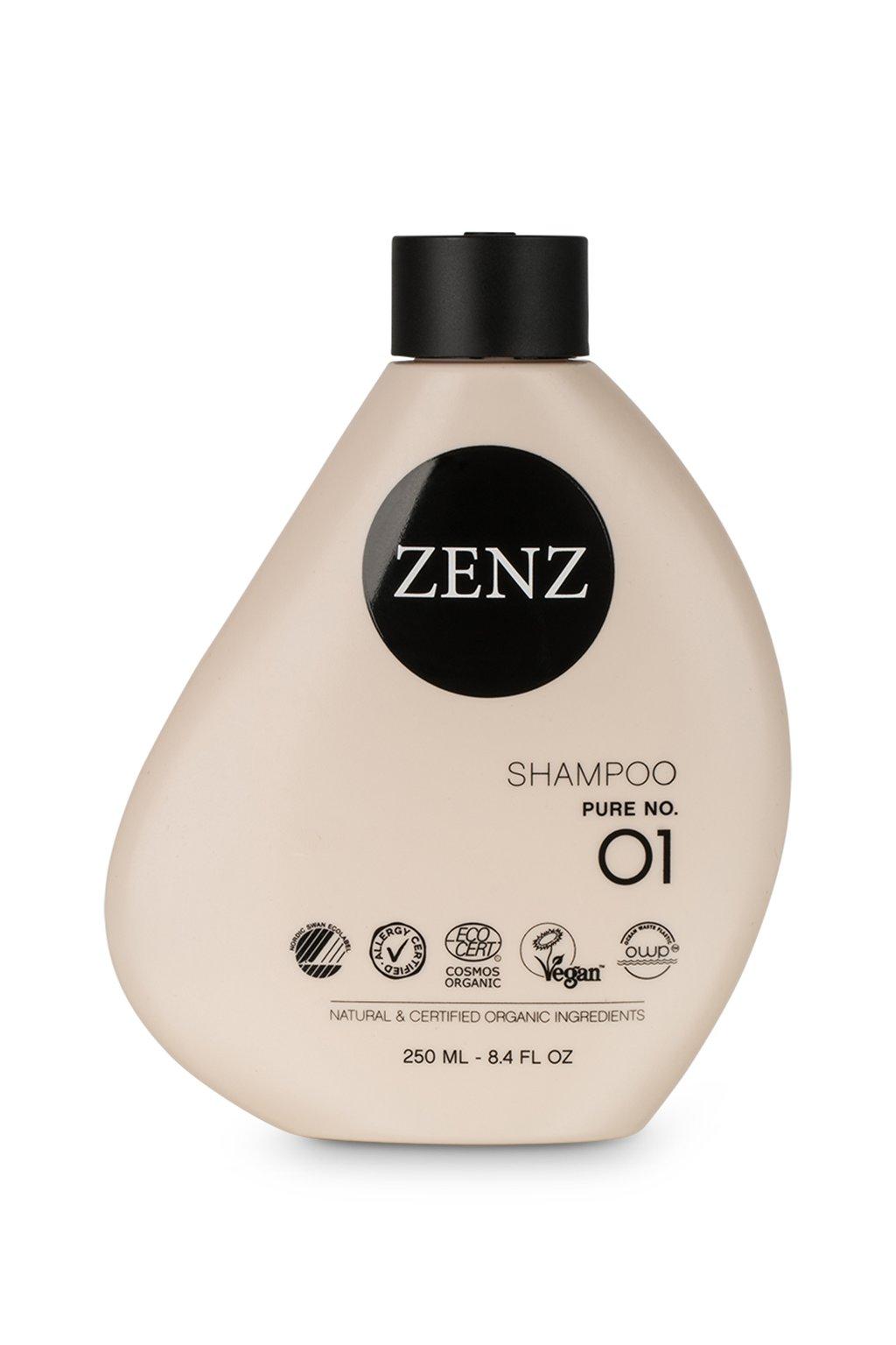 zenz no 01 pure shampoo