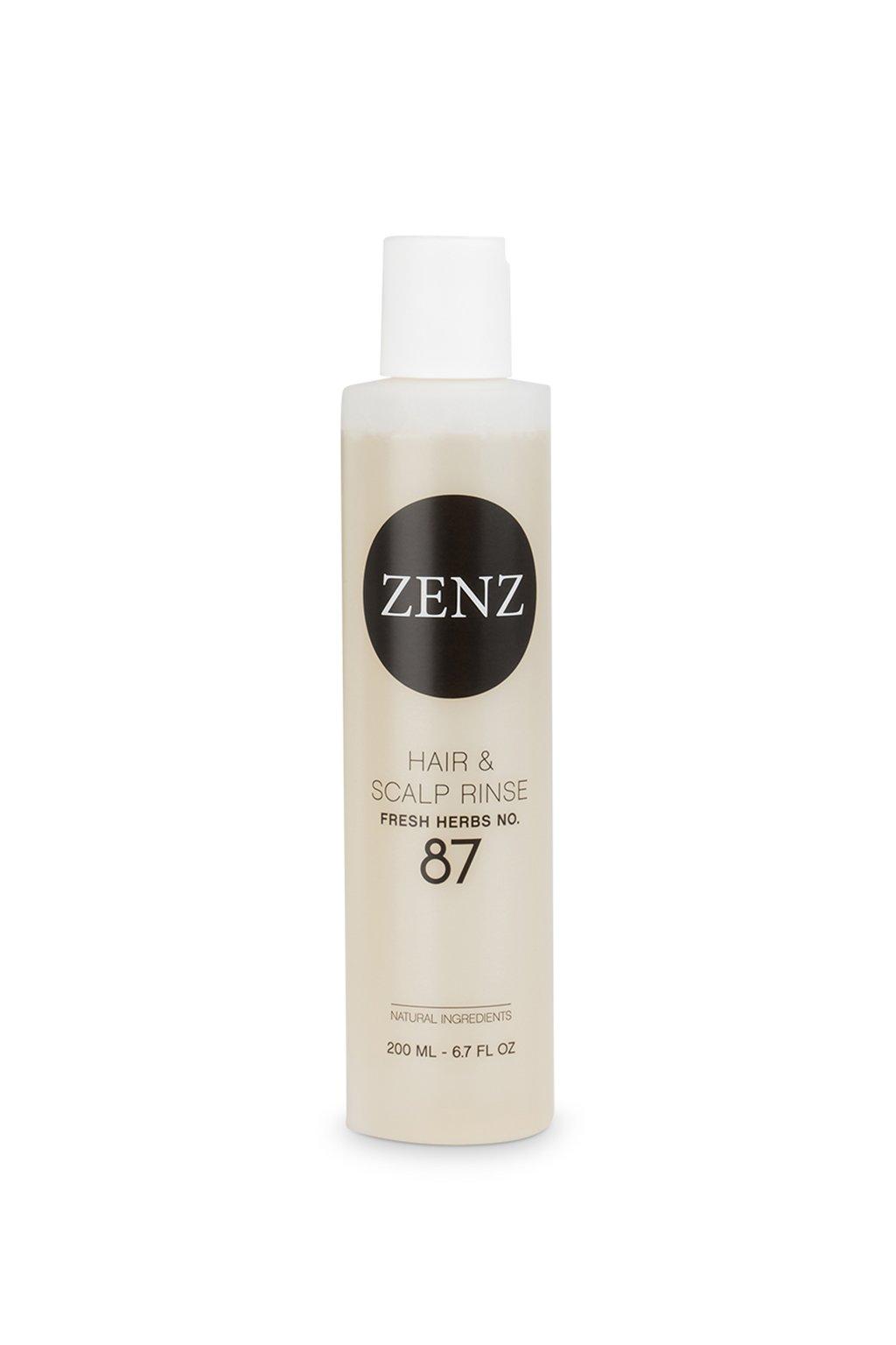 zenz no 87 fresh herbs hair and scalp rinse
