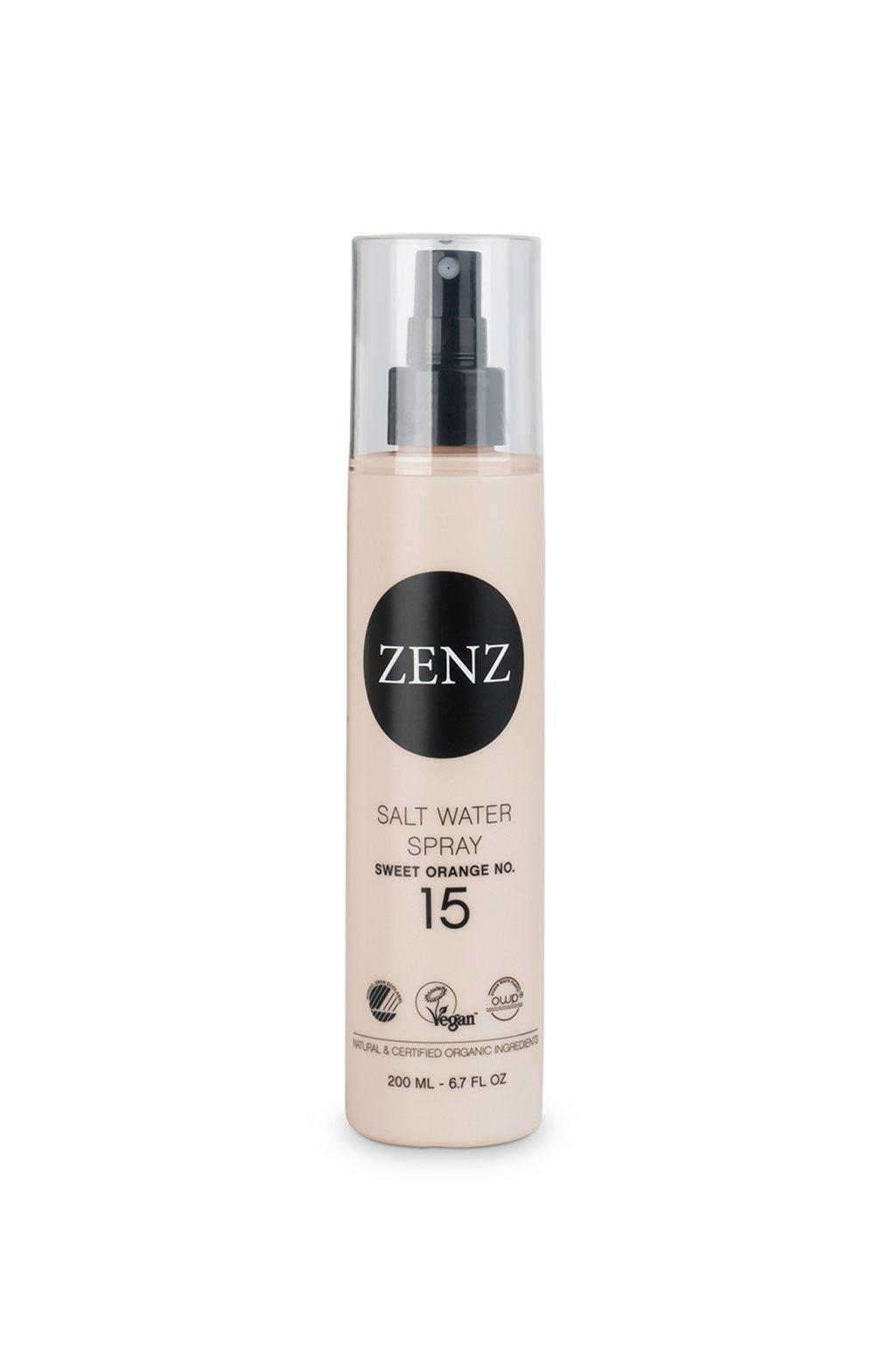 zenz sweet orange salt water spray 200ml