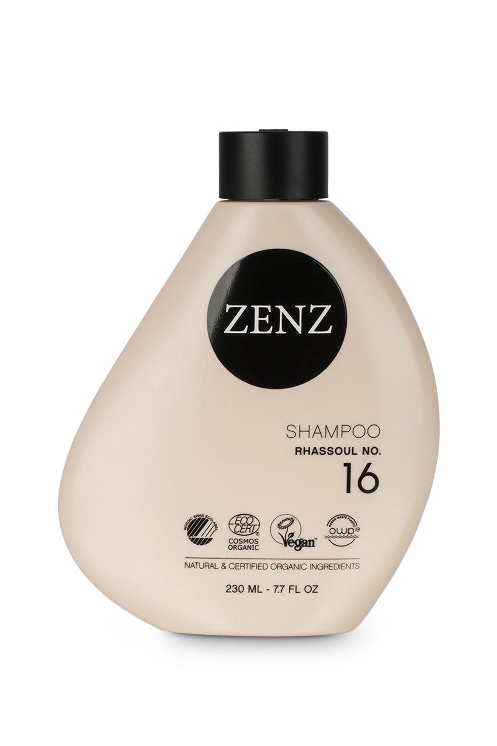 zenz no 16 rhassoul shampoo