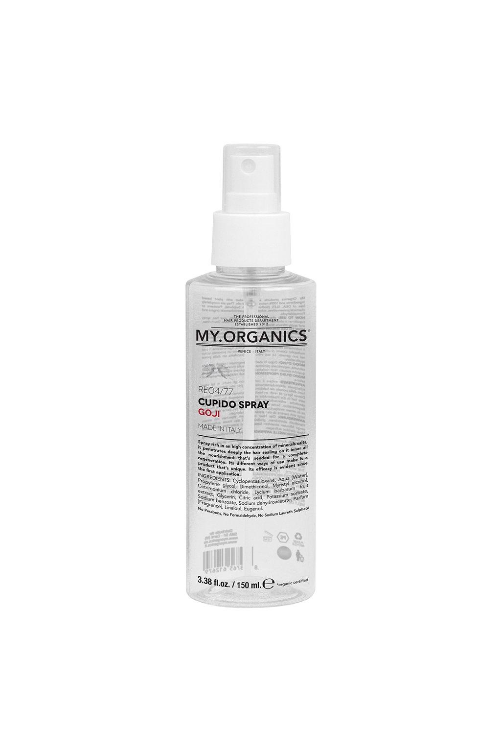 my organics cupido spray goji 150ml