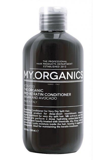 my organics the organic pro keratin conditioner argan and avocado