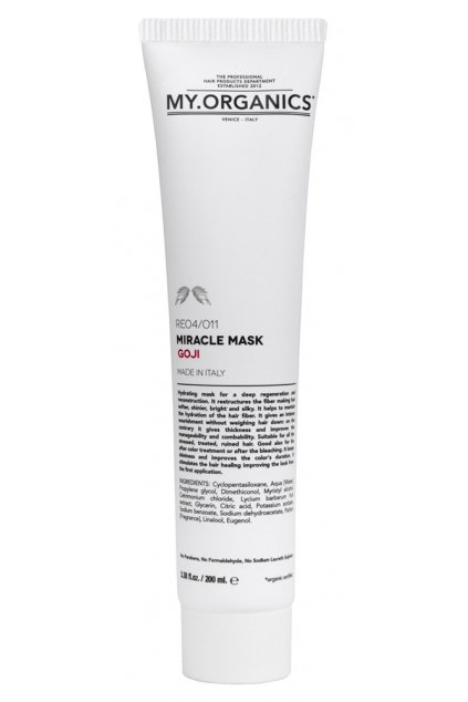 MY.ORGANICS MIRACLE MASK GOJI 200ML