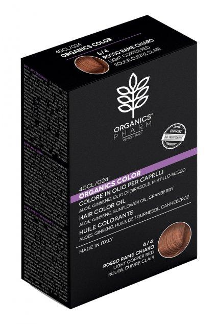 ORGANICS PHARM Organics Color Hair Color Oil 122ml 6 4 Light Copper Red