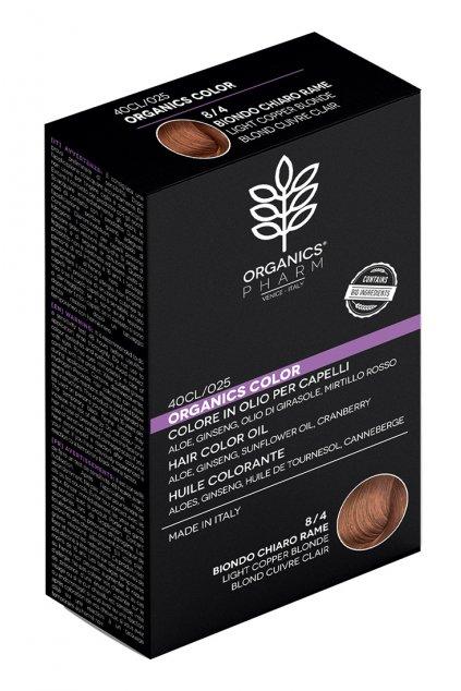 ORGANICS PHARM Organics Color Hair Color Oil 122ml 8 4 Light Copper Blonde