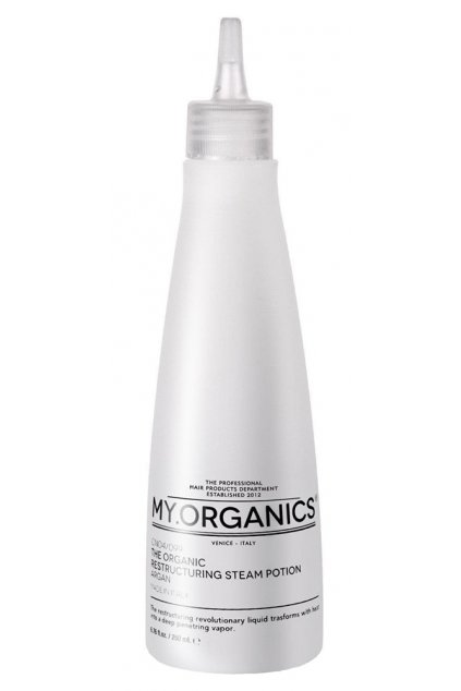 THE ORGANIC RESTRUCTURING STEAM POTION ARGAN