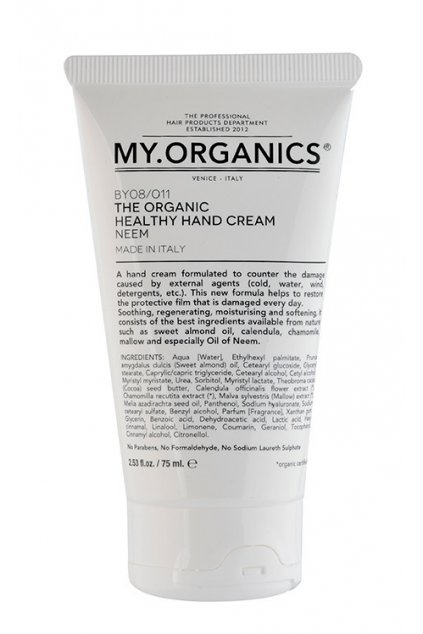 MY.ORGANICS HEALTHY HAND CREAM NEEM