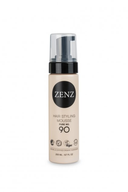 zenz pure volume hair styling mousse 90