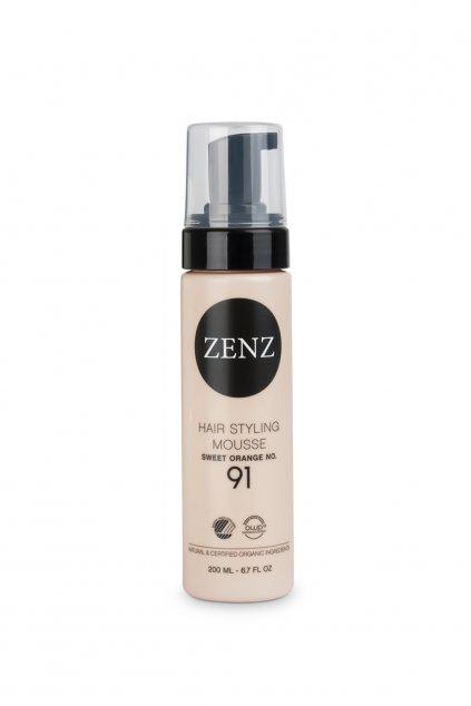 zenz no 91 sweet orange hair styling mousse 200ml