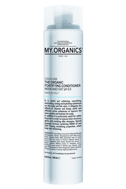 THE ORGANIC FORTIFYING CONDITIONER NEEM AND OAT