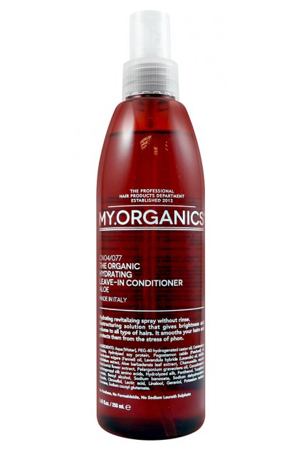THE ORGANIC HYDRATING LEAVE IN CONDITIONER ALOE