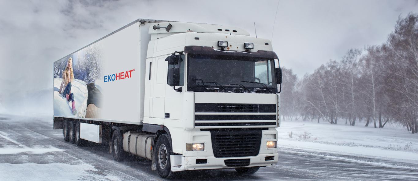 EKOHEAT banner kamion